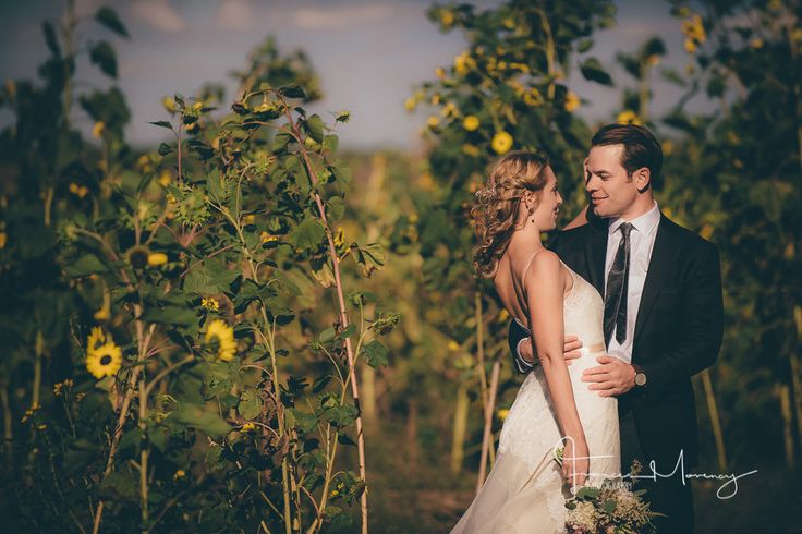 Journalistic wedding photography of bride and groom