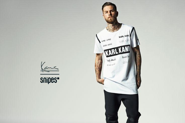 Hip Hop won't stop! Der amerikanische Designer Karl Kani steht seit Jahren für coole, vom Black Rap inspirierte Mode. Das Label bringt euch nun das T-Shirt Sabik. Durch den mega entspannten Style und den starken Front Print wird das Shirt unverwechselbar. Der runde Ausschnitt und weiches, bequemes Cotton machen das Teil im klassischen Fit sehr lässig. Artikelnr.: 6038924 Größen: S-XXL Preis: 39,99 Euro #snipes #snipesknows #karlkani #streetwear