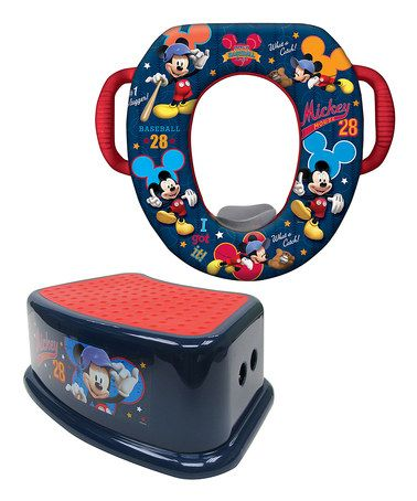 Another great find on #zulily! Mickey Mouse Potty Training Set #zulilyfinds