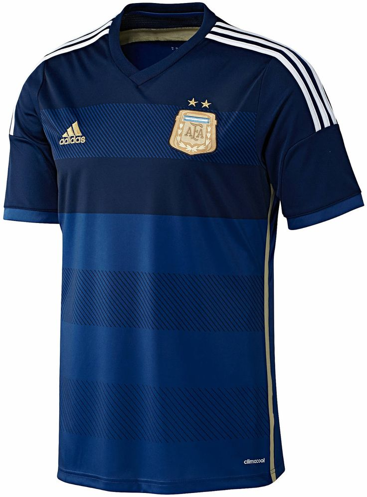 Argentina 2014 World Cup adidas Away Shirt (Official) http://brazilsworldcupshirts.co.uk/