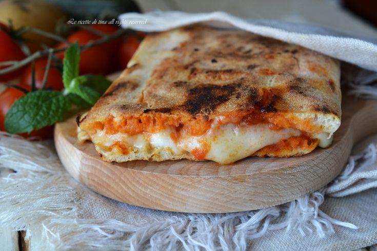Saltimbocca di pizza