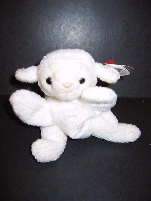 6e288bad4d7 Ty 19203  Ty Beanie Babies Fleece Sheep Plush Stuffed Animal Retired W Tag  March 21 1996 -  BUY IT NOW ONLY   18.14 on  eBay  beanie  babies  fleece   sheep ...