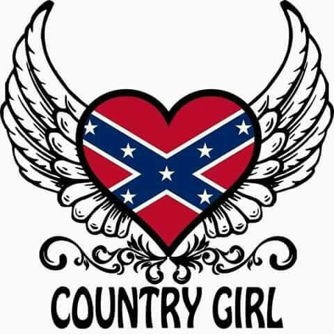 rebel flag heart coloring pages - photo#15