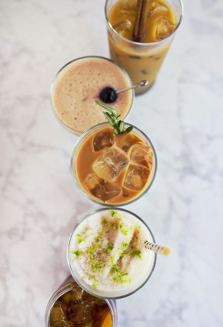 Our favorite summer cold brew coffee recipes, made with the @kitchenaidusa Cold Brew Coffee Maker. #sponsored