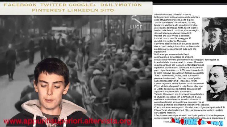 Mussolini al potere: marcia su Roma e omicidio Matteotti by Gli Appunti ...