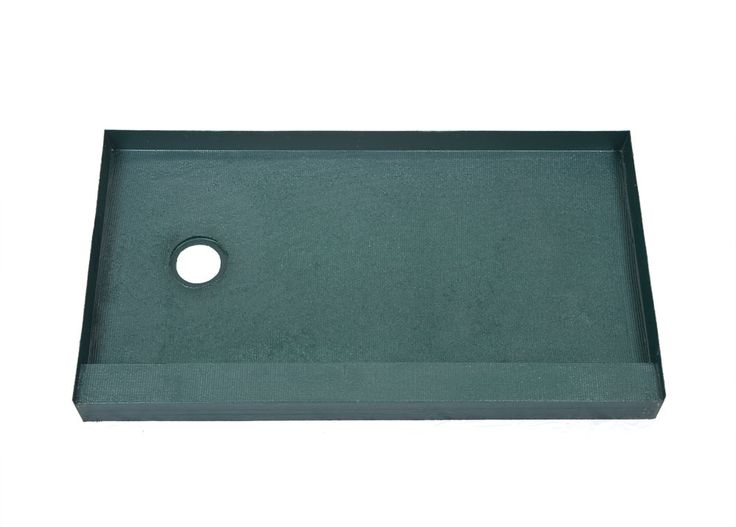 The KBRS 30in x 54in left-drain Tile-Basin brand shower pan is sturdy and 100% leak-proof shower tray. A must have for your custom tile shower installation.