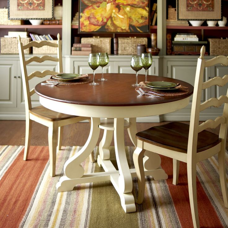 Kitchen Round Tables Large Rugs Francesca Antique Ivory Dining Chair | If I Owned A Bed ...