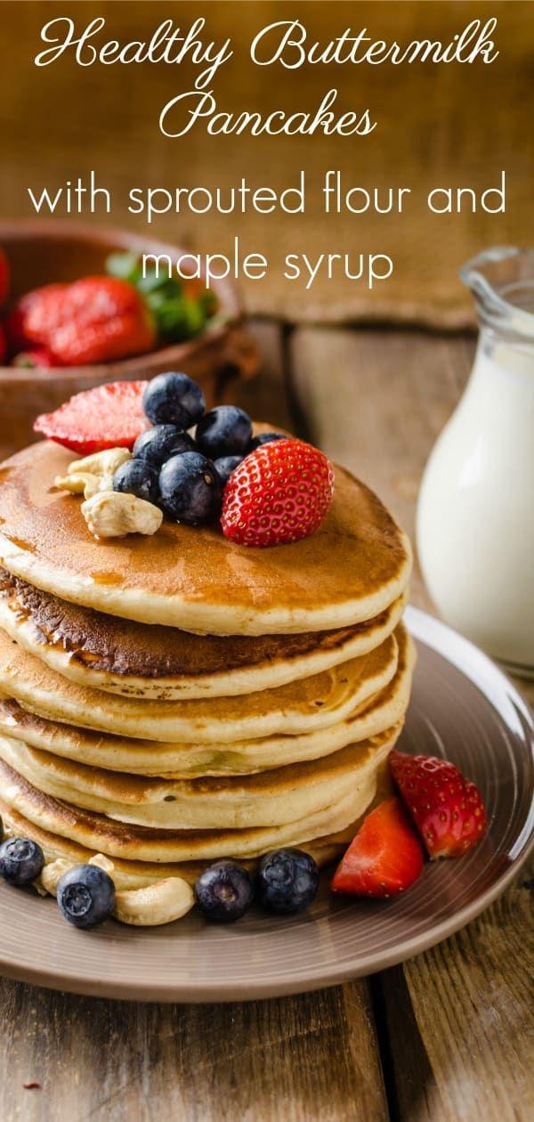 Healthy Buttermilk Pancakes Recipe Recipe Pancake Recipe Pancake Recipe Buttermilk Buttermilk Pancakes