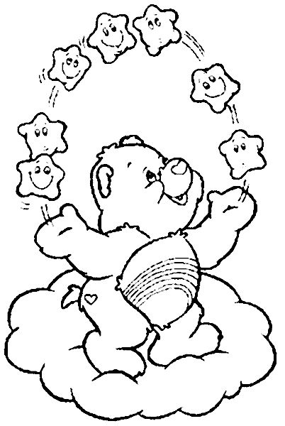 73 best care bear cheer bear 4 images on pinterest care bears  cheer and coloring pages Care Bears Coloring Pages Printable  Cheer Bear Care Bear Coloring Pages