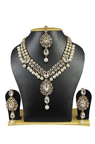 Indian Bollywood Kundan Gold Plated Cz Wedding Wear Neckl... https://www.amazon.com/dp/B01N6TWIK4/ref=cm_sw_r_pi_dp_x_IHNWybKVRZRPF