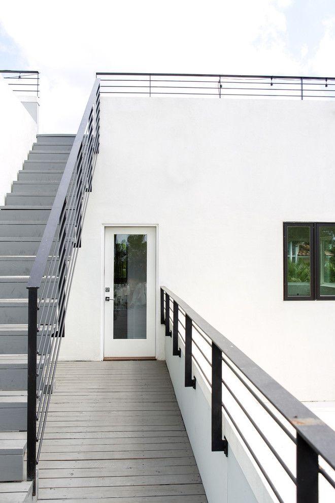 die 25 besten ideen zu treppengel nder selber bauen auf pinterest gestrichenes. Black Bedroom Furniture Sets. Home Design Ideas