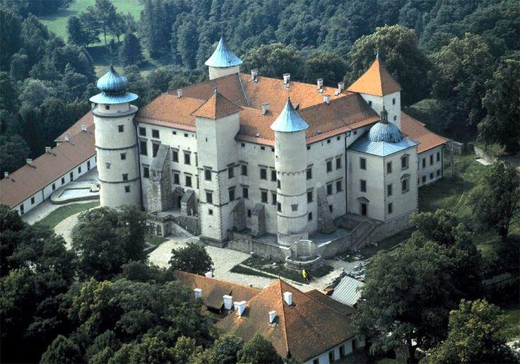 Najpiękniejsze zamki w Polsce - zamek Kmitów i Lubomirskich w Nowym Wisniczu