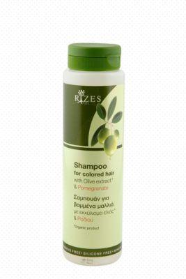 Haar shampoo voor gekleurd haar met olijf-extract en granaatappel.