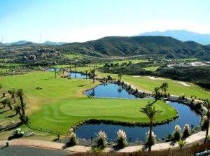 Valle del Este golf course Spain