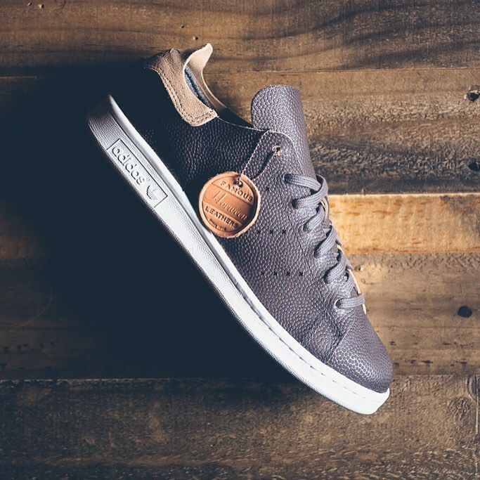 online store a7eb2 62511 Wings + Horns x adidas Originals Stan Smith  Grey