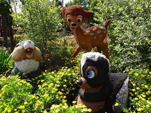 Image result for bambi flower and garden festival topiary