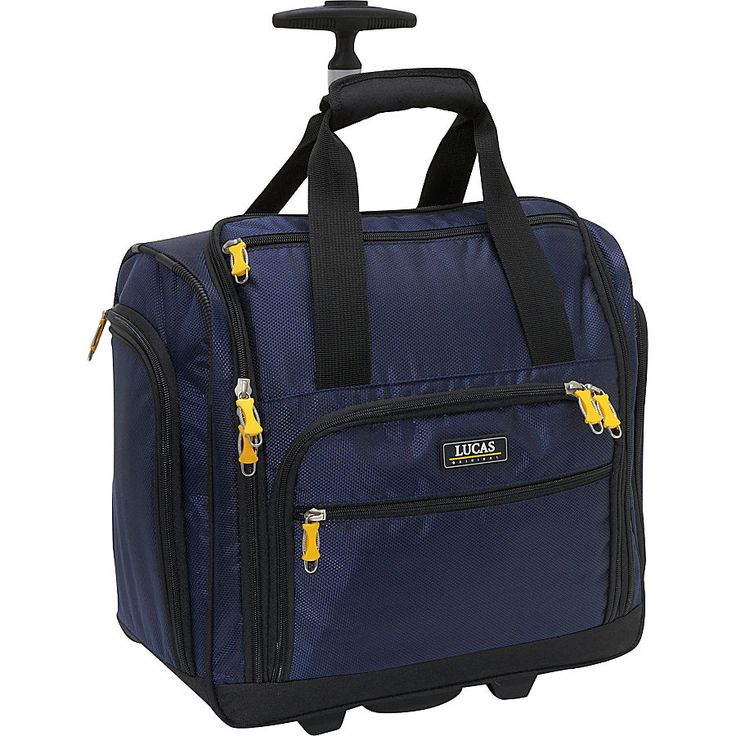 LUCAS Wheeled Under the Seat Cabin Bag - eBags.com