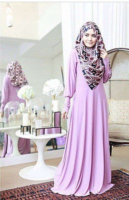 Whimsical Puff Sleeve Abaya via Hijabi Style Fashion Shoppe. Click on the image to see more!