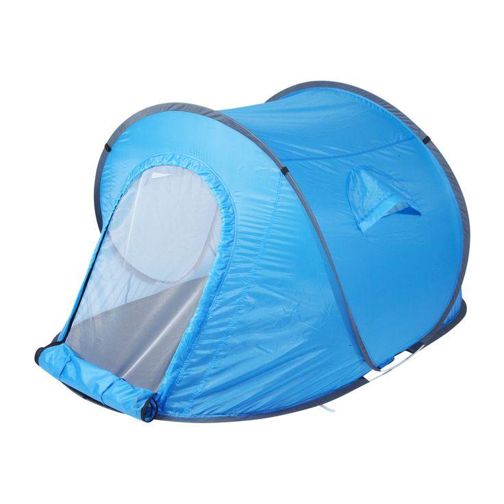 Kamperen? Leuk, maar dat opzetten van die tent... Is in 60 seconden gedaan met onze pop-up tent! En die kost nu ook nog maar eens €19,99!