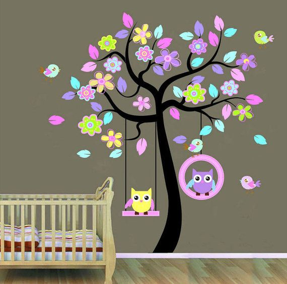 Wall Decals Nursery  Nursery Wall Decal  by RockyMountainDecals