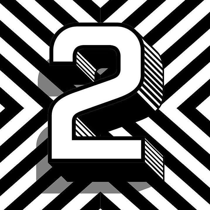 Friday #CreativeShoutOut goes to @kevinadamsdesigns #Two #36daysoftype #Numbers #typography by instalizi