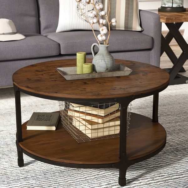 Carolyn Round Coffee Table Decorating Tables