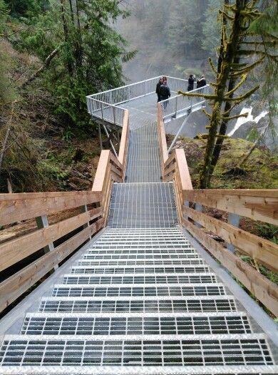 Elk Falls, Comox Valley, Vancouver Island, Canada
