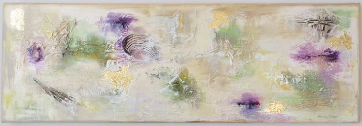 Textured Abstract Painting. Good site with tips on texture