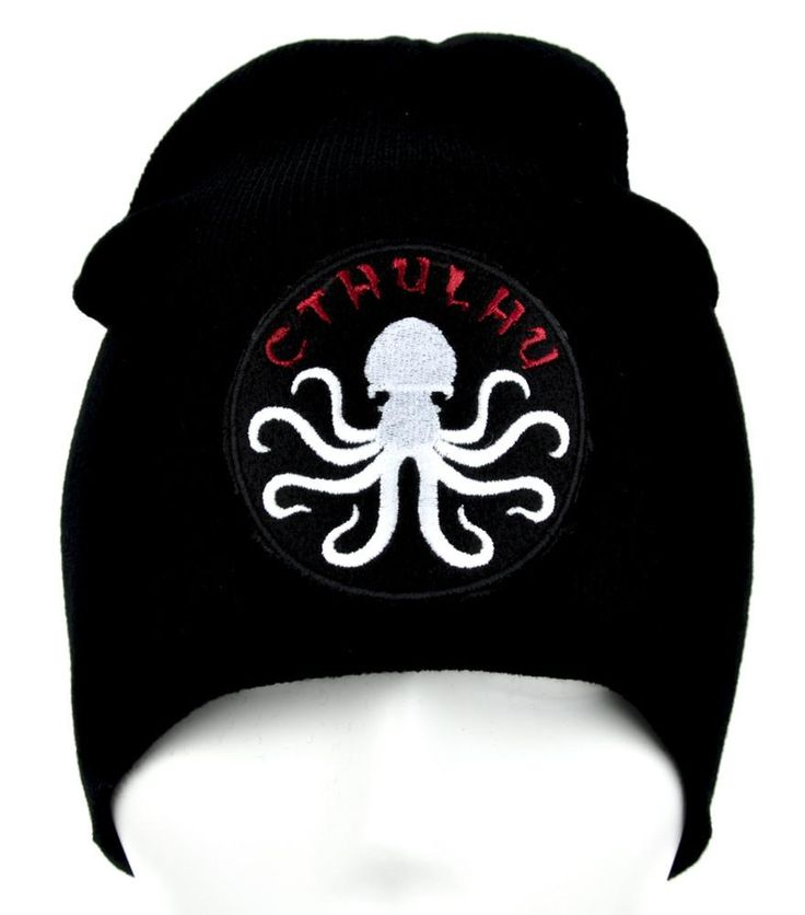 Cthulhu Tentacle Octopus Beanie Alternative Clothing Knit Cap HP Lovecraft  #rockabilly #occultgirl #nugothgirl #metalgirl #witchgirl #rivethead #batcave #horrorgirl #rock #witch