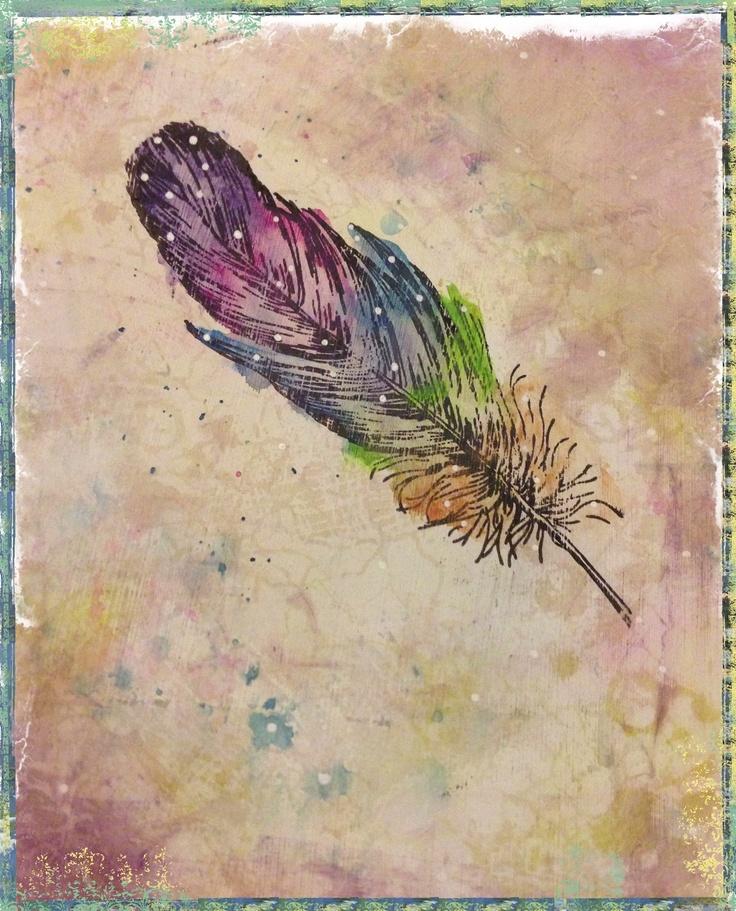работой открытка с перьями знают