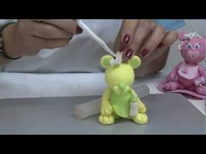 Jorge Rubicce - Bienvenidas TV - Modela un osito en porcelana fría - YouTube