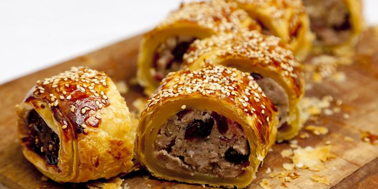 James Mackenzie packs his sausage rolls with cranberry, partridge and juniper for a particularly Christmassy combination