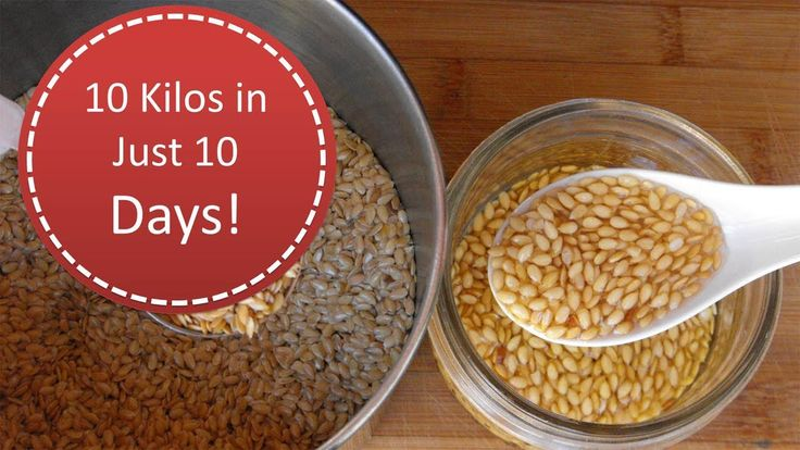 How To Lose Belly Fat in 10 Days Using Flaxseed Water 10 Kilos in Just 1...
