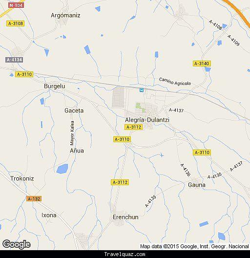 Map of Alegria-Dulantzi de Alava - http://travelquaz.com/map-of-alegria-dulantzi-de-alava.html