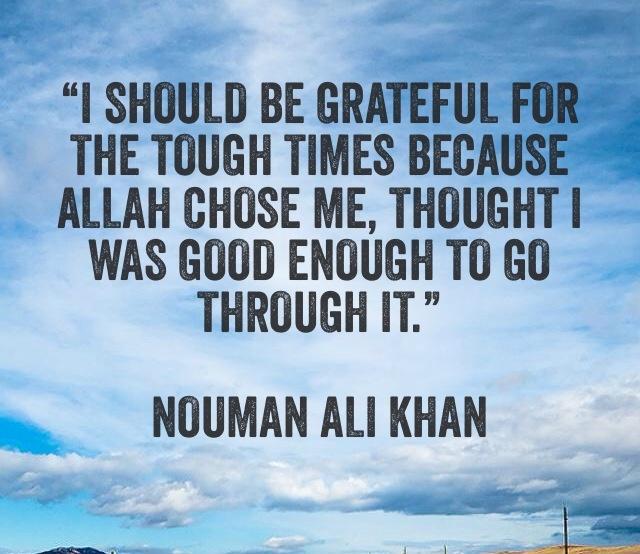 Alhamdulillah..something to remember when things get tough :-)..
