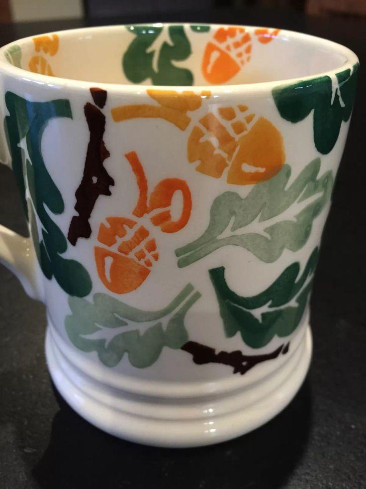 Emma Bridgewater Oak & Acorn SAMPLE 0.5 Pint Mug 2012
