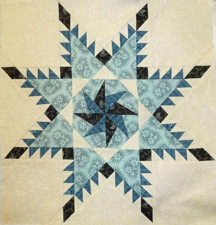 Sue Garman feathered star