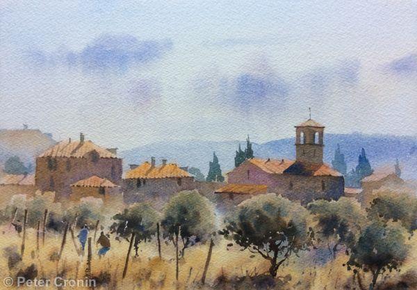 A Tuscan Village