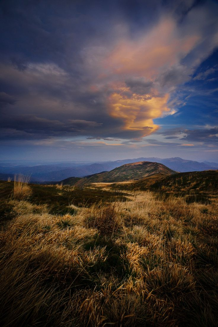 At the end of that day - Bieszczady National Park (Poland) - UNESCO East Carpathian Biosphere Reserve.