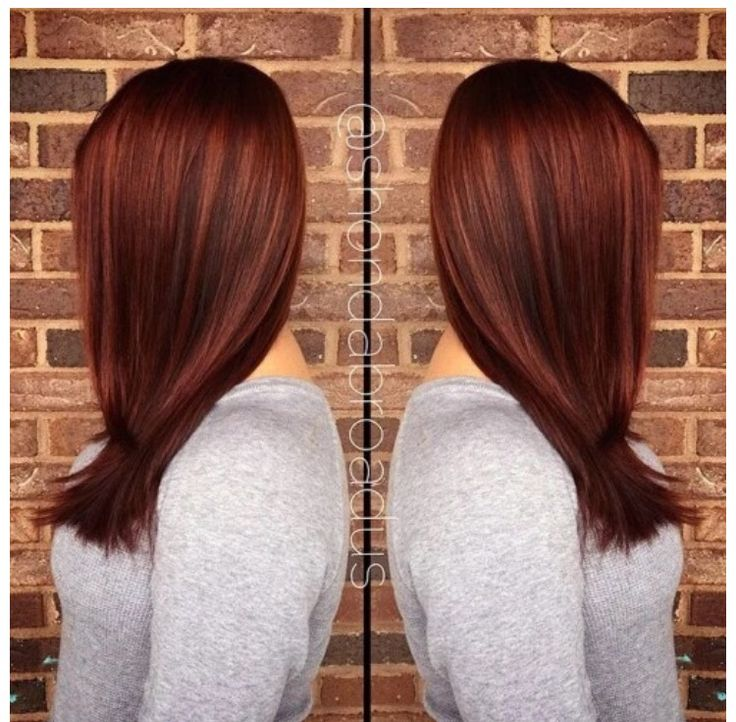 Love this copper hair color