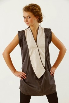 Love this ethical tunic dress - wish I had the legs for it!