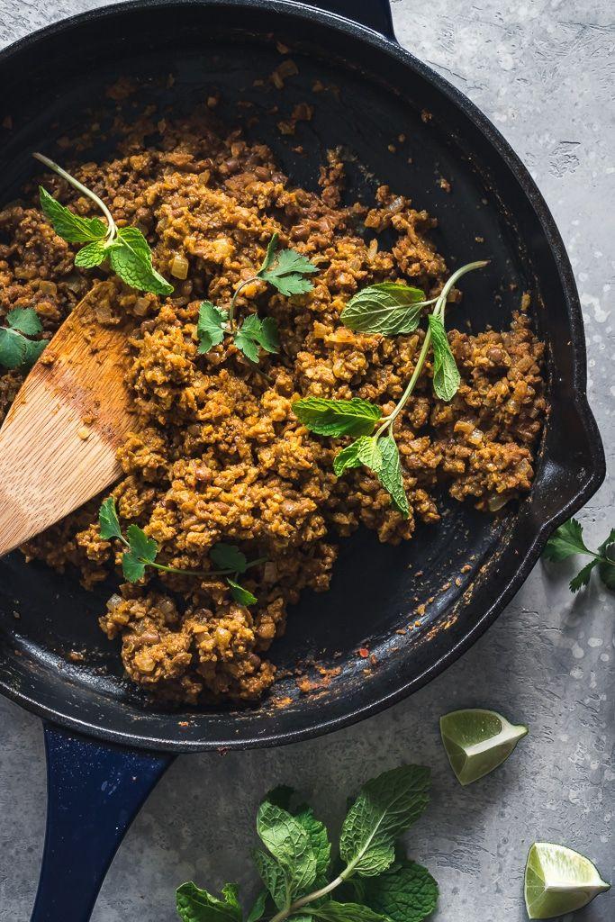 Vegan Thai Curry Tacos