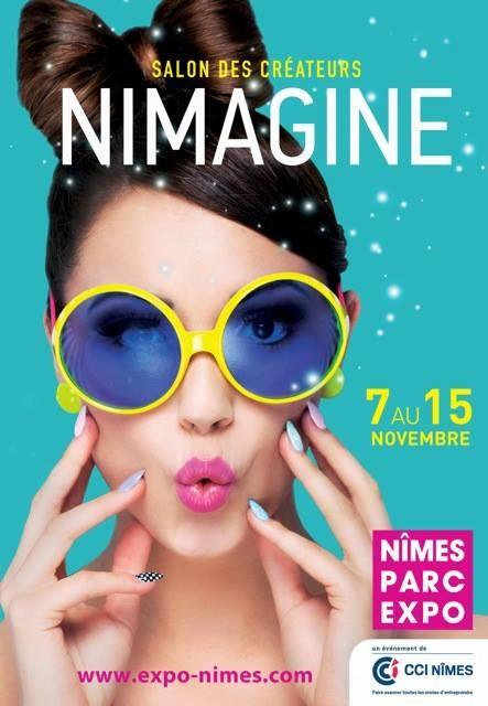 Cartel de la Feria de Creadores de Nimes