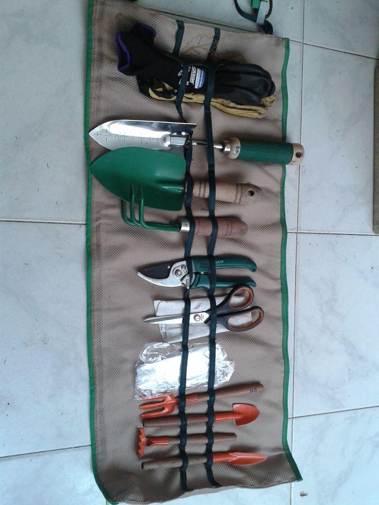 Organizador de herramientas de jardineria