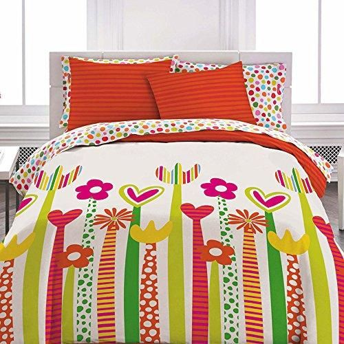 Twin Comforter Set (Agatha Ruiz De La Prada Crazy Icons)