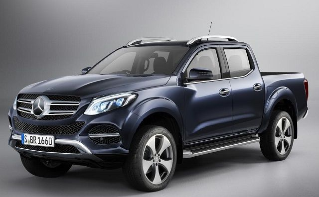 2017 mercedes the luxury pickup truck glt http www for Mercedes benz truck 2017