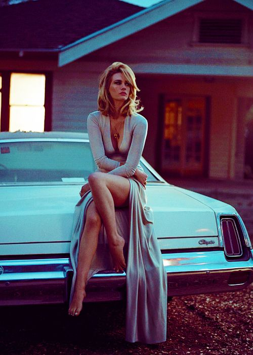 January Jones photographed by Vincent Peters for Vogue Italia, August 2014