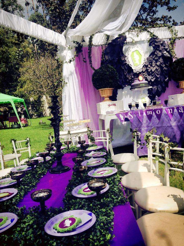 Maleficent Birthday Party Ideas | Photo 1 of 23 | Catch My Party