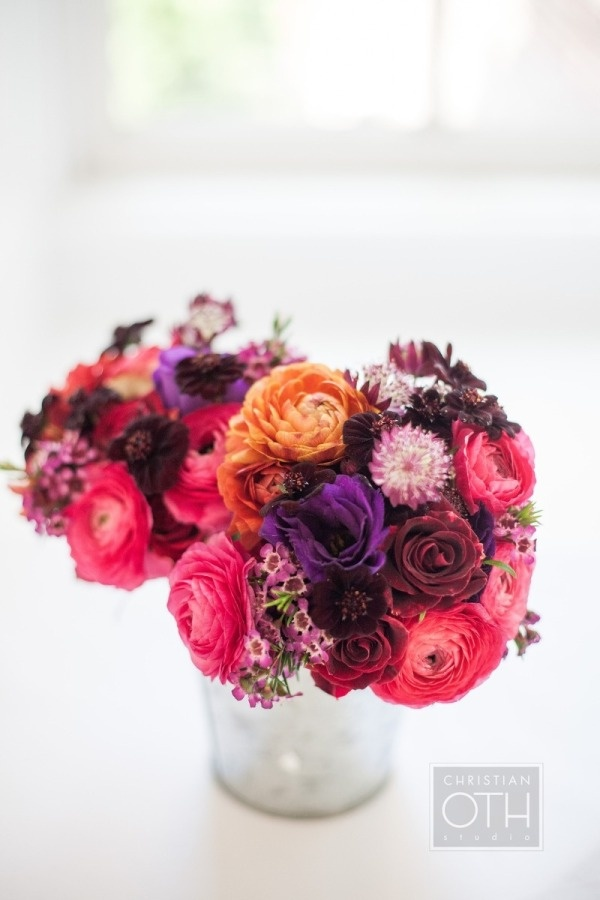 dying over the colors in these bouquets  Photography By / christianothstudio.com, Floral Design By / frankalexandernyc.com