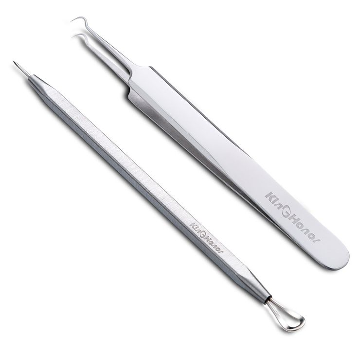 KinGHonor Professional Blackhead Splinter Remover Tools Stainless Steel Blackhead Removal Kits – Easily Remove Pimples Whiteheads Comedones Acne Zit Ingrown Hairs and Facial Impurities Surgical ** More info could be found at the image url.
